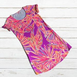 """Lilly Pulitzer """"Tammy"""" Amethyst Sunseekers Dress"""